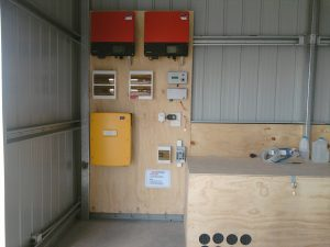 equipment board - AC-coupled off-grid